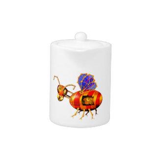 steampunk bumblebee teapot