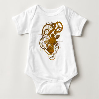 Steampunk Bunny Baby Bodysuit