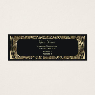 Steampunk Business Card