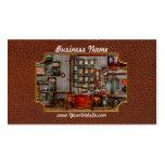Steampunk - café - el fabricante de café de la com tarjetas de visita