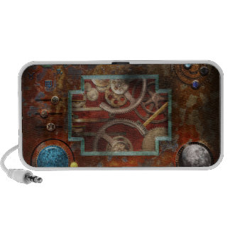 Steampunk - caja de Pandora Laptop Altavoz