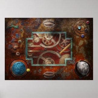 Steampunk - caja de Pandora Poster