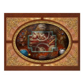 Steampunk - caja de Pandora Postal