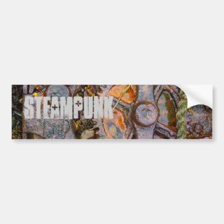 Steampunk Pegatina De Parachoque