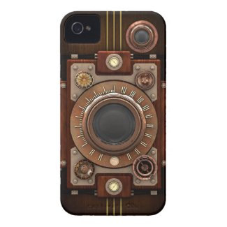 Steampunk Camera #1B Iphone 4 Tough Cover