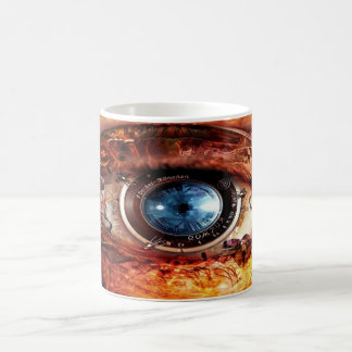 Steampunk Camera Eye Coffee Mug