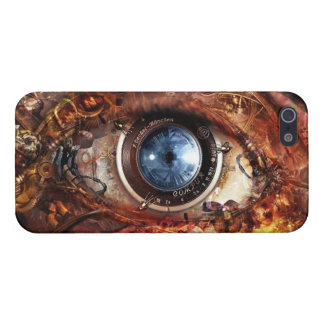 Steampunk Camera Eye iPhone SE/5/5s Cover