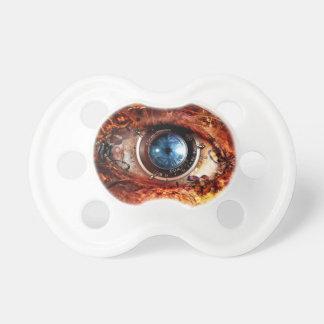 Steampunk Camera Eye Pacifier