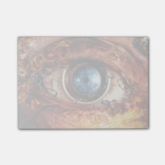 Steampunk Camera Eye Post-it Notes