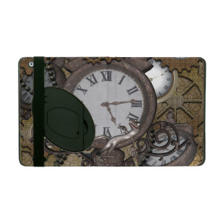Steampunk  can you sea the funny gecko iPad cover