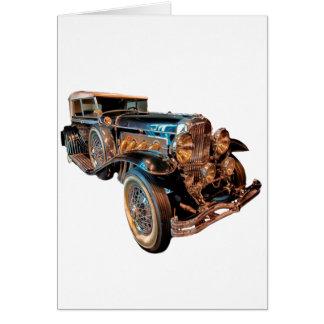 Steampunk car card