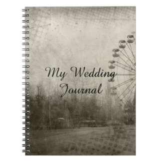 Steampunk Carnival Top Hat Wedding Journal