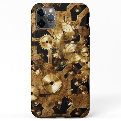 Steampunk iPhone 11 Pro Max Case