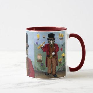 Steampunk Cat Guy Victorian Gothic Fantasy Art Mug