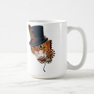 Steampunk Cat mag Coffee Mug