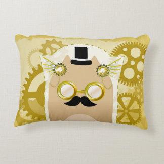 Steampunk Cat Pillow