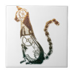 "Steampunk cat tile<br><div class=""desc"">Love cats,  love steampunk</div>"