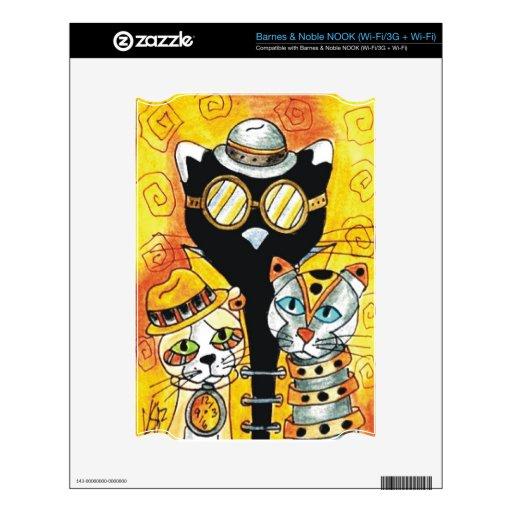 Steampunk Cats.jpg NOOK Skin