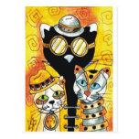 Steampunk Cats.jpg Postal
