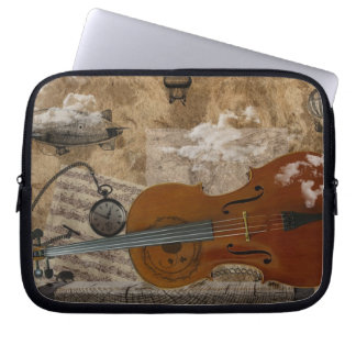 Steampunk Cello Suite Laptop Sleeve
