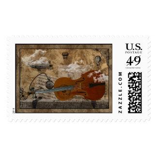 Steampunk Cello Suite Postage