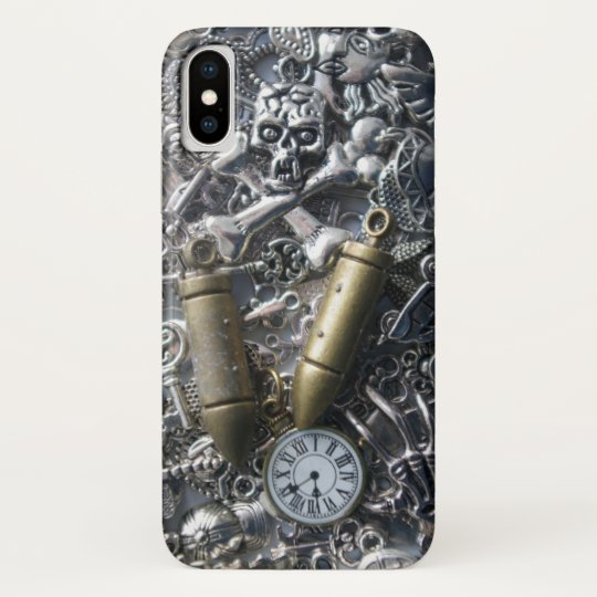 Steampunk charms blackberry bold cover