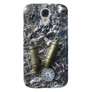 Steampunk charms galaxy s4 cover