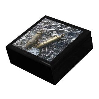Steampunk charms gift box