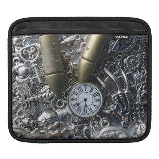 Steampunk charms iPad sleeve