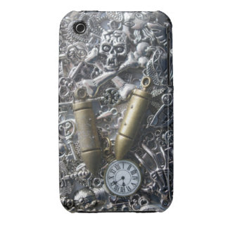 Steampunk charms iPhone 3 case