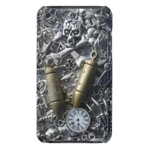 Steampunk charms iPod touch cover
