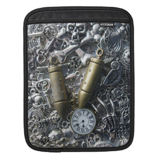 Steampunk charms sleeves for iPads