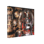 Steampunk - Check the gauges  Stretched Canvas Print
