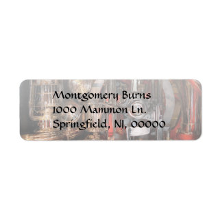 Steampunk - Check the gauges Custom Return Address Label