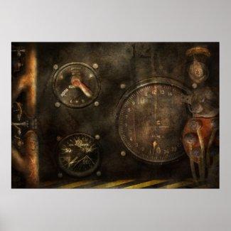 Steampunk - Check your pressure print