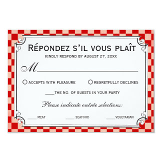 Steampunk Checkerboard Wedding RSVP Cards Invitations