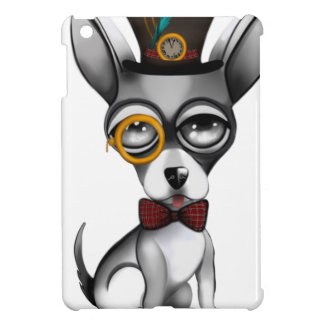 Steampunk Chihuahua Art iPad Mini Cover