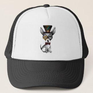 Steampunk Chihuahua Art Trucker Hat
