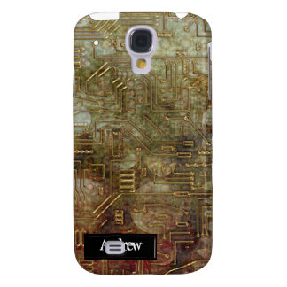 Steampunk Circuit Board iPhone3G Galaxy S4 Covers