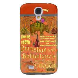 SteamPunk Circus Samsung S4 Case