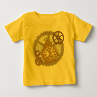 Steampunk Clock and Gears T Shirt