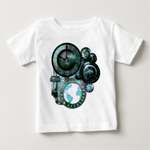 Steampunk Clock Baby T-Shirt