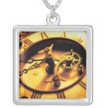 Steampunk Clock Gears Necklace
