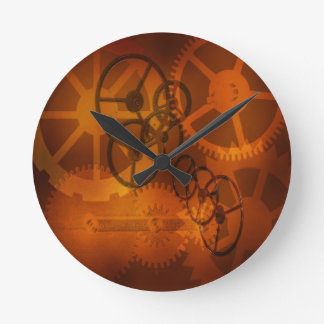 steampunk clock gears parts clock