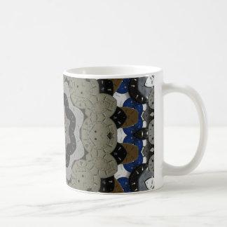 Steampunk Clock Mandala Coffee Mug