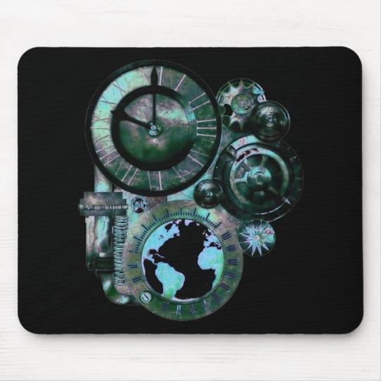 Steampunk Clock Mouse Pad