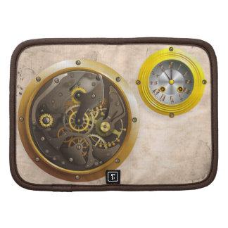Steampunk clock planners