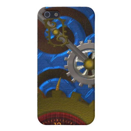 Steampunk Clock Speck Case iPhone 5/5S Cases