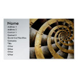 Steampunk - Clock - The flow of time Double-Sided Standard Business Cards (Pack Of 100)