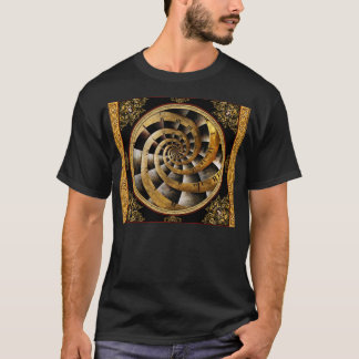 Steampunk - Clock - The flow of time T-Shirt